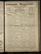Cheese Reporter, Vol. 55, no. 14, Saturday, December 13, 1930