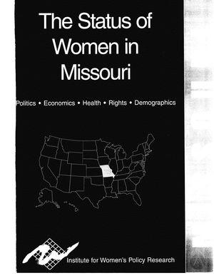 The Status of Women in Missouri, 2002