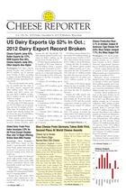 Cheese Reporter, Vol. 138, No. 24, Friday, December 6, 2013