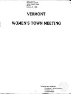 Vermont Women's Town Meeting