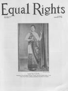 Equal Rights, Vol. 14, no. 52, February 4, 1928
