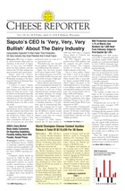 Cheese Reporter, Vol. 138, No. 44, Friday, April 25, 2014