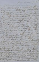 Letter from Catherine Leslie to Patrick Leslie, July 19, 1850