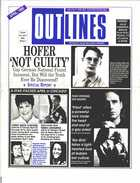 OUTLINES THE VOICE OF THE GAY AND LESBIAN COMMUNITY VOL 8, No. 11, APRIL 1995