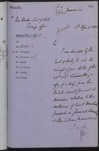 Letter from John Bramston to Under Secretary of State, Foreign Office, re: Court Martial of General Bonachea and Other Cuban Insurrectionists, April 4, 1885