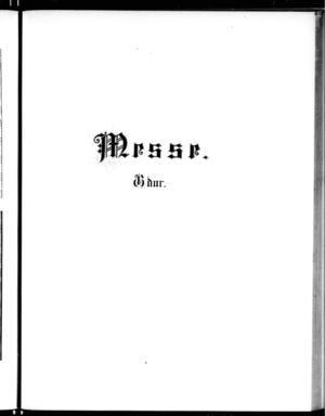 Missa, BWV 236, G Major