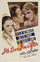 It's Love I'm After (1937): Shooting script