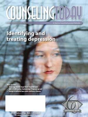 Counseling Today, Vol. 55, No. 5, November 2012, Identifying and Treating Depression