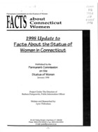 1998 Update to Facts about the Status of Women in Connecticut