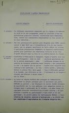 Avant-Projet D'Annexe Chronologique, 6 Octobre-5 Novembre, 1956