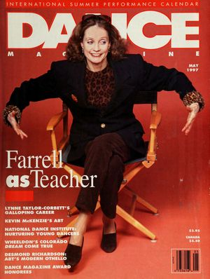Dance Magazine, Vol. 71, no. 5, May, 1997