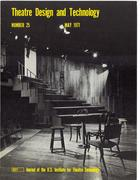 Theatre Design & Technology, no. 25, May, 1971