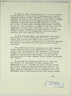 Memo re: Dept. of State Participation in Cuban Refugee Program, c.1963