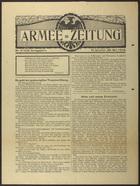 Armee = Zeitung, Nr. 210, May 20, 1916