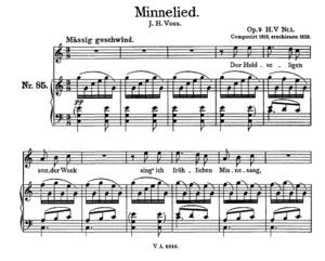 Minnelied