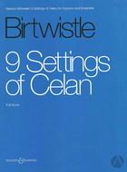 9 Settings of Celan
