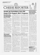 Cheese Reporter, Vol. 132, No. 17, Friday, October 26, 2007