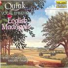 English Madrigals: Quink Vocal Ensemble