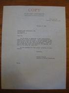 Stanley Milgram to Raymond-Loew Associates, Inc., October 3, 1966