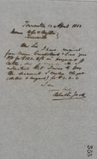 Letter from Robert Logan Jack, April 13, 1888