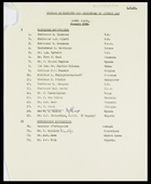 1 July 1965 - list of confirmed acceptances and unconfirmed invitations