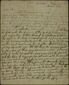Letter from James Butchart to Robert Butchart, October 23, 1842