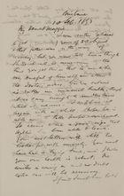 Letter from Robert Logan Jack to Maggie Jack, September 10, 1893