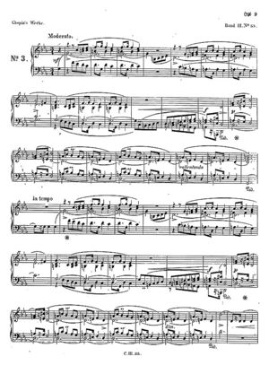 Mazurka no. 35, B.153, Op. 56/3, C Minor