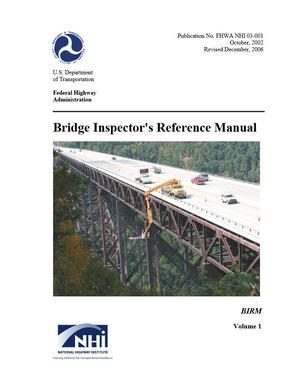 Bridge Inspector's Reference Manual