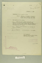Memos Dated November 26, 1918 from E. D. Anderson and Henry Jervey re: Wounding of Two Mexican Citizens by United States Soldiers, Near Nuevo Laredo, Mexico, on June 22, 1918