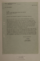 Memo from Dr. Reidl to the Office of the Land Commissioner for Bavaria Public Safety Division re: Anti-Communist Pamphlets in Czech Language, June 19, 1951