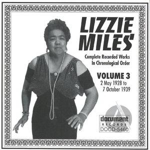Lizzie Miles Vol. 3 (1928-1939)