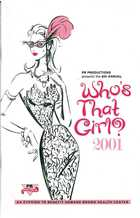 6th Annual Who's That Girl? 2001 - An Evening to Benefit Howard Brown Health Center