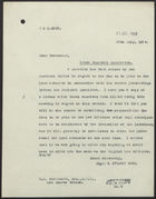 Letter from G. Stuart King to R. M. Greenwood, July 30, 1924