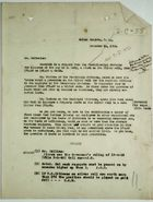 Letter from Collins to Mr. McIlvaine re: Rates of Pay, Americans and West Indians, December 14, 1918