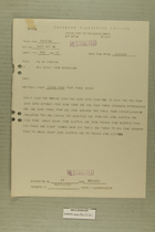 Message from HQ US Constab to All Daily ISUM Addreeses, October 6, 1949
