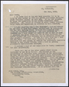 Letter from A.W. Knee to John Green re: British Broadcasting Corporation and Farm Sunday, June 8, 1943