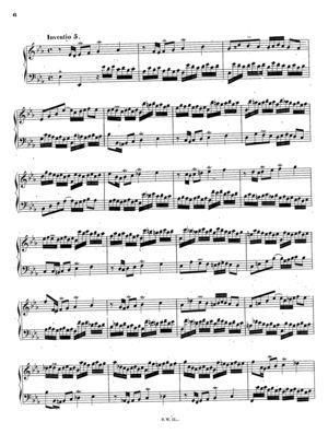 Inventio 5 in E-flat, BWV 776, E Flat Major