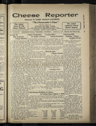 Cheese Reporter, Vol. 54, no. 27, Saturday, March 15, 1930