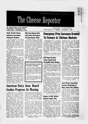 Cheese Reporter, Vol. 88, No. 6, Friday, October 2, 1964