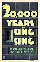 Twenty Thousand Years In Sing Sing (1932): Shooting script