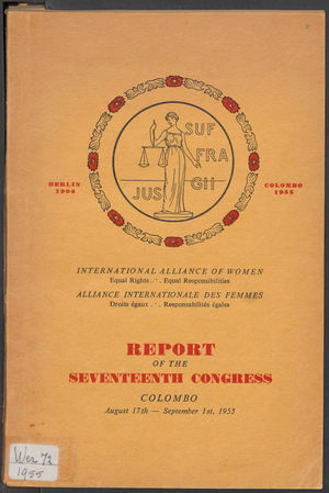 Report of the 17th Congress, IAW