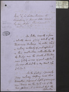Memo by Sir Lintorn Simmons to Accompany a Private Letter Received by Him Dated Bucharest 23 Oct. 1876