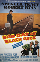 Bad Day at Black Rock (1955): Continuity script