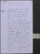 Memo of the J. S. F. Accompanying Copy of No. 3 Lt. Col. Horne of 25 Nov. 76