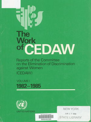 The Work of C.E.D.A.W.