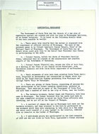 Confidential Memo re: Plan of Aggression Against Costa Rica, August 8, 1957