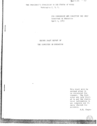 Second Draft Report of the Committee on Education, 1963