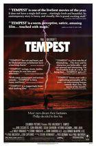 Tempest (1982): Shooting script