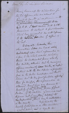 Memo by Sir Lintorn Simmons, Undated